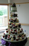 Small Cake + Cupcakes