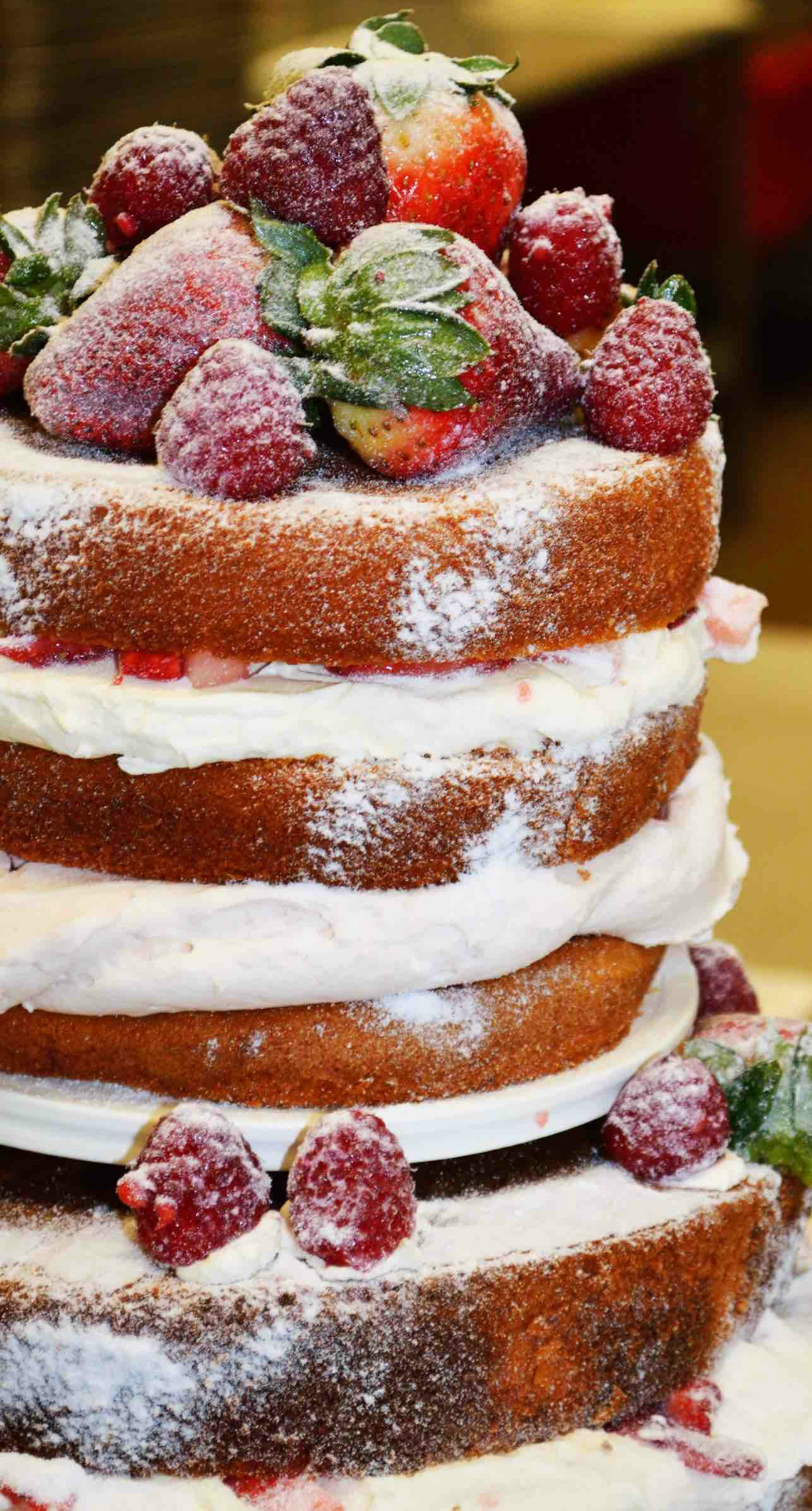 Can You Use Red Velvet Cake For A Naked Cake